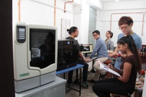 3D Printer for Design students at First City University College