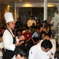 Chef Martin Yan's cooking demonstration at the Berjaya University College Hospitality