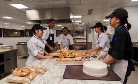 Boulangerie - Bakery Kitchen at University of Wollongong (UOW) Malaysia KDU Utropolis Glenmarie
