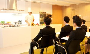 Culinary Teaching Studio at YTL International College of Hospitality located inside Starhill Gallery
