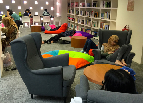 A great place to study at HELP University Subang 2