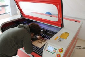 Laser Cutter at First City University College
