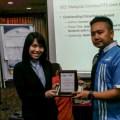 Multimedia University (MMU) Cyberjaya Engineering Student won the 2016 IEEE Malaysia ComSoc/VTS Joint Chapter Outstanding Dissertation Award