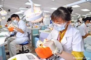 Sophisticated dental lab facilities at MAHSA University