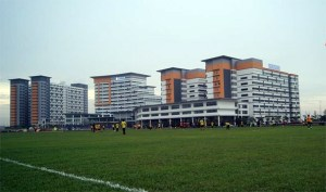 MAHSA University's new state-of-the-art 48-acre campus at Saujana Putra