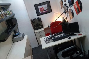 Radio Room for Communication Students at IACT College