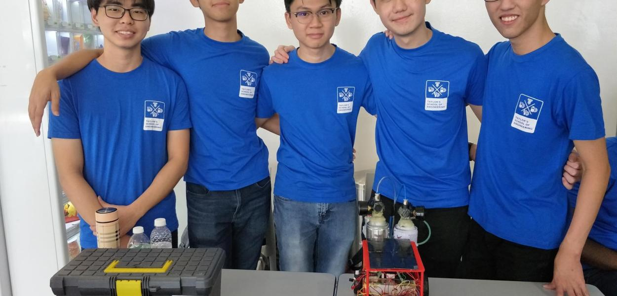 Taylor's University Engineering Students Self-made Fuel Cell Wins Big At Grand Challenge
