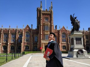 EduSpiral advised & helped me choose the best college for A-Levels. I obtained a scholarship & have graduated from a top ranked UK University. Lucas, A-Levels at HELP Academy & Law Degree from Queens University Belfast