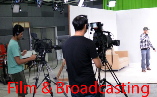 Find out about the Film & Broadcasting Courses and which are the Best Private Universities & Colleges in Malaysia that offer them