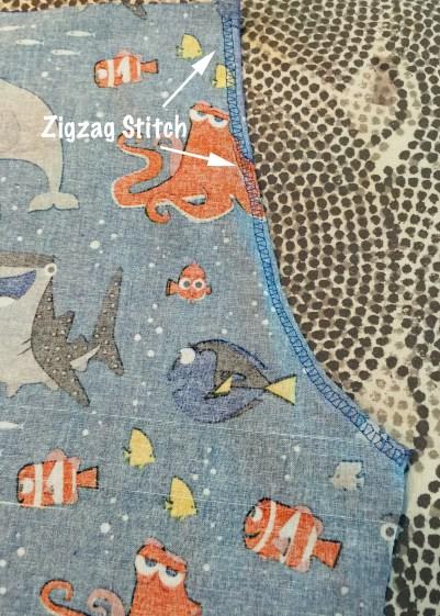 Zigzag shorts