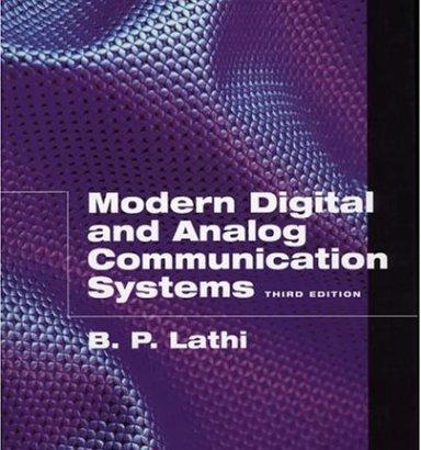 Modern Digital and Analog Communication Systems by B.P.Lathi