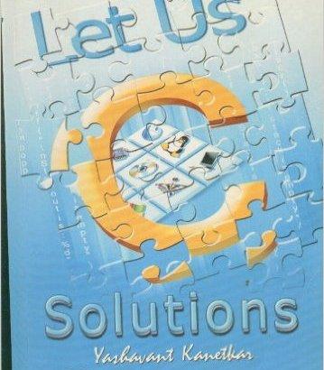 Let Us C Solutions by Yashavant Kanetkar PDF