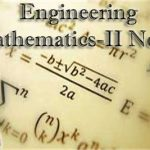 Engineering Mathematics -2 Notes