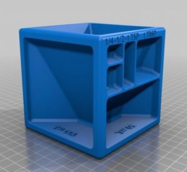 3D printing ideas - measuring cup