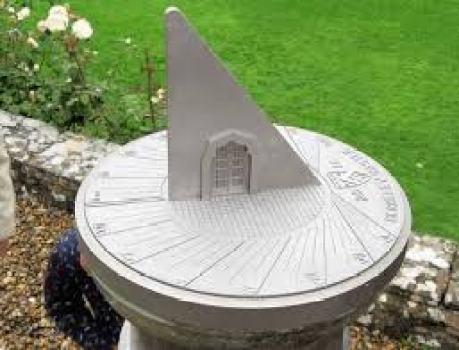 sundial 3d printed
