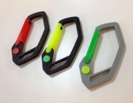 3d printed carabiner