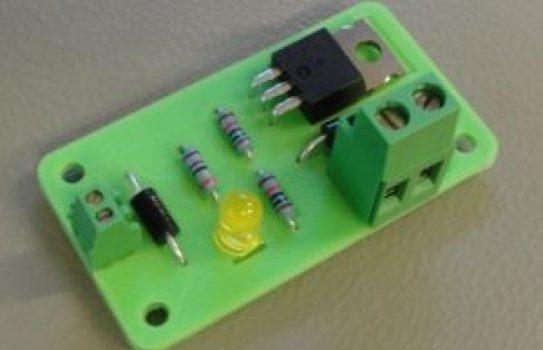 3d printed custom circuit