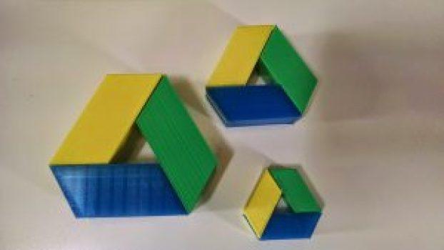 3d google drive logo