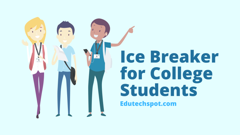 Ice Breaker for College Students