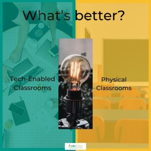 Tech Enable Classroom vs. Physical Classroom