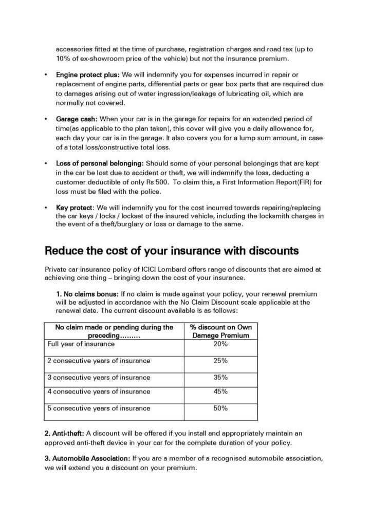 Renew Icici Lombard Motor Insurance Impremedia Net