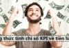 công thức tính chỉ số KPI về tiền lương