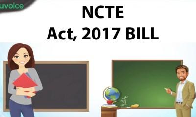 NCTE act,2017 bill