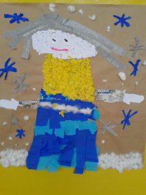 Pani Zima Izabela Kowalska Prace plastyczne Zima (Prace plastyczne)