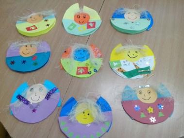 Aniołki na okrągło Dzień Anioła Izabela Kowalska Kreatywnie z dzieckiem Postacie