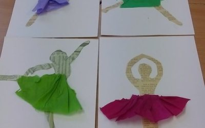 Baletnica z gazety