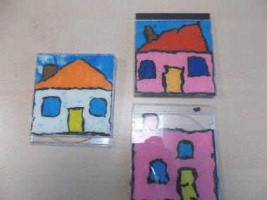 Domki w pudełku CD Dzień Muzyki Dzień Rodziny Joanna Chorabik Kreatywnie z dzieckiem