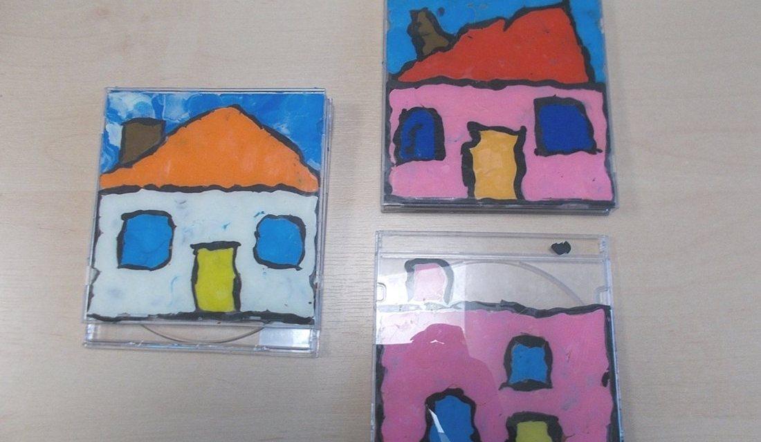 Domki w pudełku CD