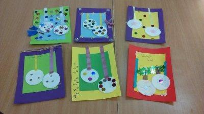 Kartki świąteczne Boże Narodzenie Izabela Kowalska Prace plastyczne Prace plastyczne (Boże Narodzenie) Święta