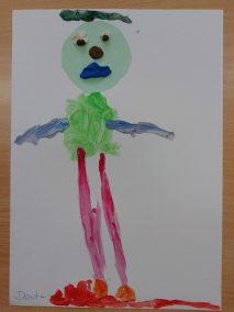 Misie farbkami malowane Dzień Niedźwiedzia Dzień Pluszowego Misia Kreatywnie z dzieckiem Marlena Wrońska Zwierzęta