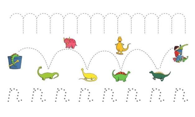 Dzień Dinozaura – Szlaczki