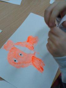Tydzień bajek - Nemo Dzień postaci z bajek Dzień Ryby Kalendarz świąt Kwiecień Marlena Wrońska Prace plastyczne Prace plastyczne (Dzień Postaci z Bajek)