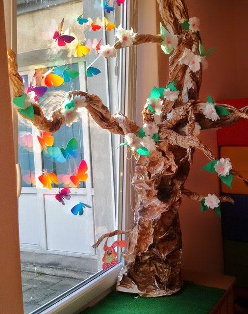 Wiosenne drzewo rozmiar XXL