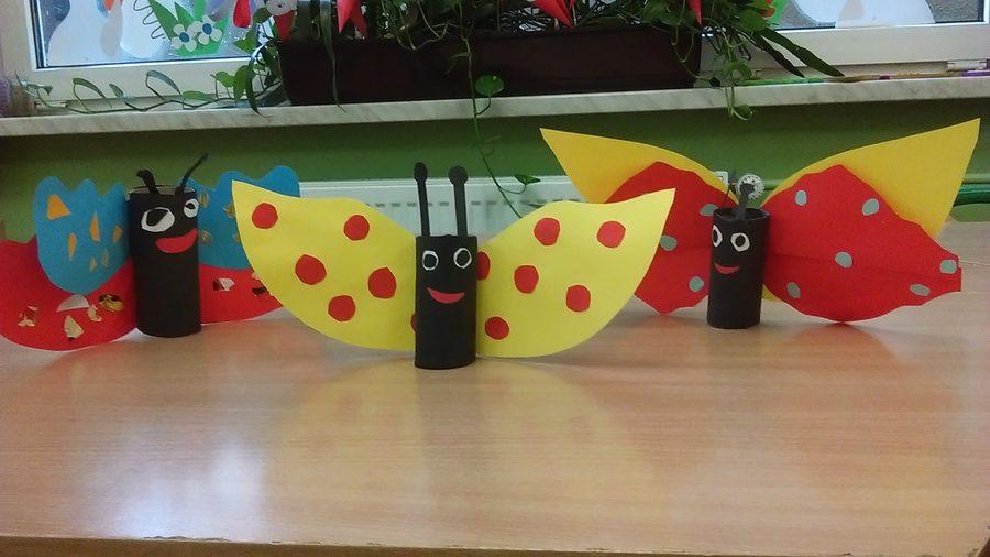 Motyle z rolek Dzień Matki Dzień Taty Izabela Kowalska Kreatywnie z dzieckiem Lato Prace plastyczne (Dzień Mamy) Prace plastyczne (Dzień Taty) Prace plastyczne (Dzień Zwierząt) Prace plastyczne (Wiosna) Światowy Dzień Zwierząt Wiosna Zwierzęta