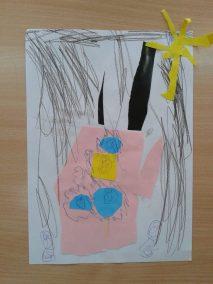 Mój dom - wycinanka Dzień Rodziny Kreatywnie z dzieckiem Marlena Wrońska