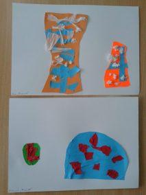 Pisanki - wycinanka Kreatywnie z dzieckiem Marlena Wrońska Prace plastyczne (Wielkanoc) Wielkanoc