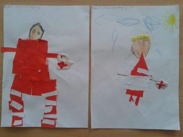 Ratownik medyczny Kreatywnie z dzieckiem Marlena Wrońska Postacie