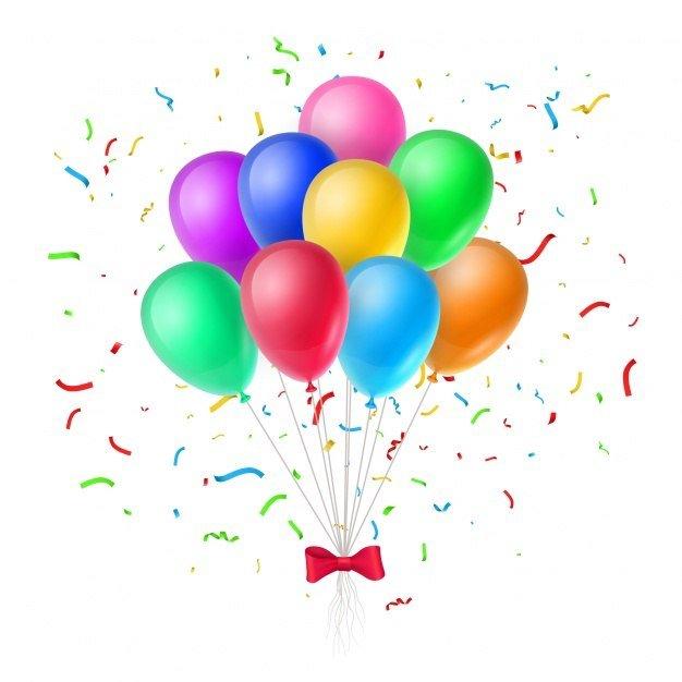 Kolorowe Baloniki Agata Dziechciarczyk Bal karnawałowy (Wierszyki) Dzień Koloru Białego Karnawał Kolory (Wierszyki) Wierszyki Zabawa (Wierszyki)