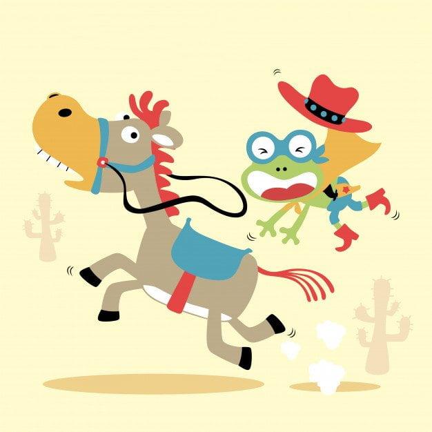 Zabawa: Konie