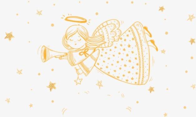 Złoty aniołek