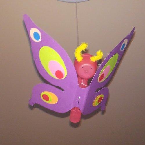 Kwiaty nitką malowane Dzień Matki Dzień Rodziny Kreatywnie z dzieckiem Małgorzata Wojkowska Prace plastyczne (Dzień Mamy) Rośliny Wiosna
