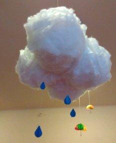Deszczowe chmury z balonów i gazety Dominika Kobylak Jesień Jesień Kreatywnie z dzieckiem Prace plastyczne (Jesień) Prace plastyczne (Wiosna) Wiosna