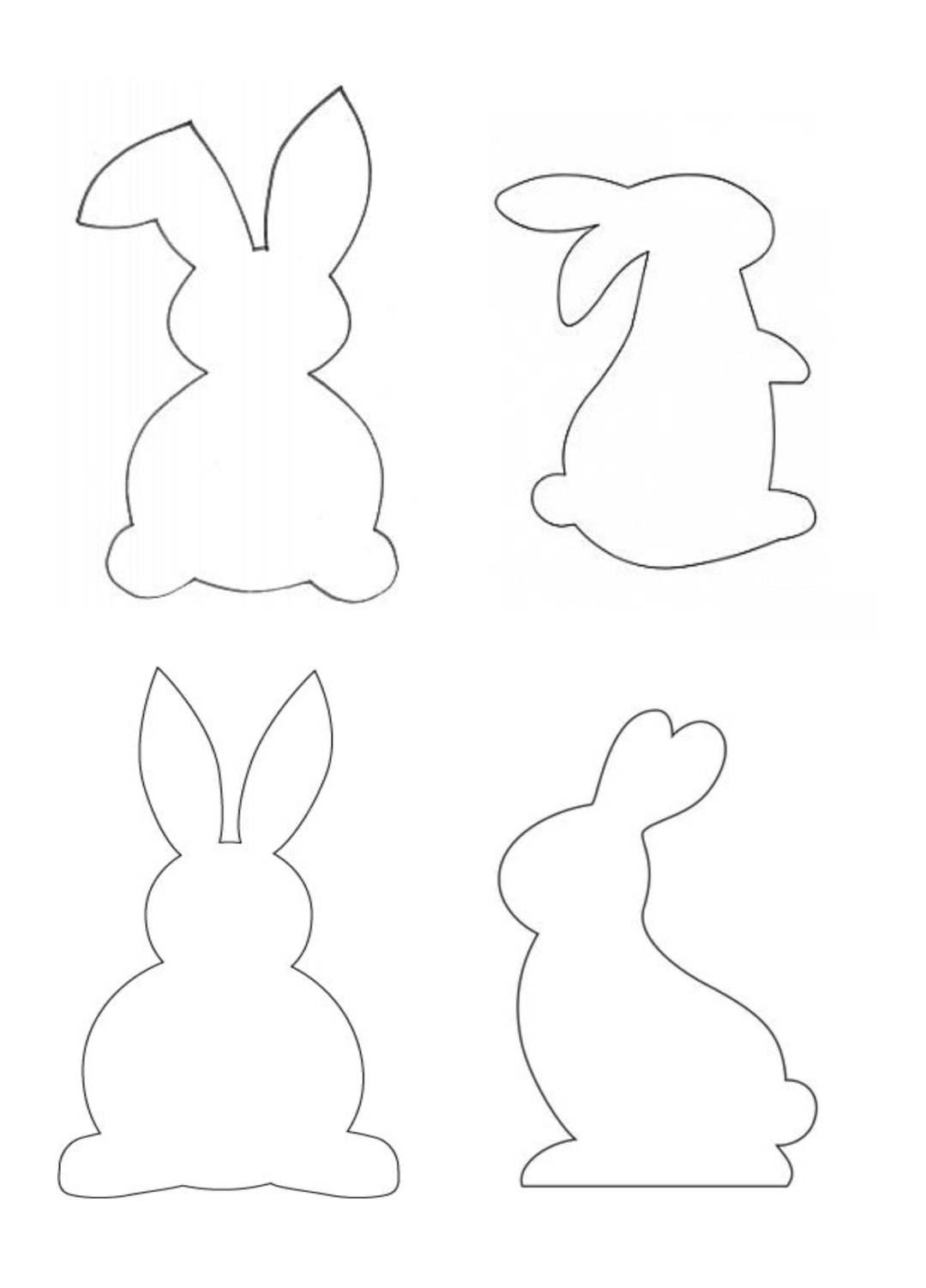 Wielkanocny zajączek w kolorowe paski Alicja Mazur Prace plastyczne Prace plastyczne (Wielkanoc) Wielkanoc Wielkanoc (Prace plastyczne)