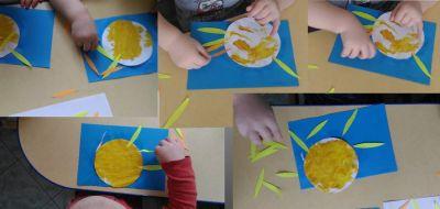 Słońce farbami malowane Dominika Kobylak Jesień Jesień (Prace plastyczne) Lato Prace plastyczne Prace plastyczne (Jesień) Prace plastyczne (Lato) Wiosna (Prace plastyczne)
