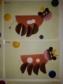 Krowa Mućka - z talerzyka Kreatywnie z dzieckiem Małgorzata Wojkowska Prace plastyczne (Dzień Zwierząt) Światowy Dzień Zwierząt