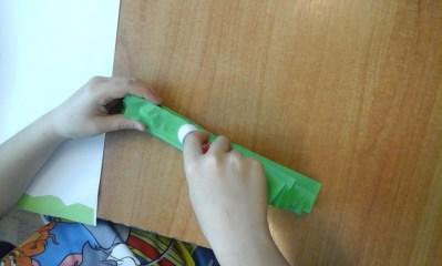 Wiosenny sad Anna Kowalska Kreatywnie z dzieckiem Prace plastyczne (Wiosna)